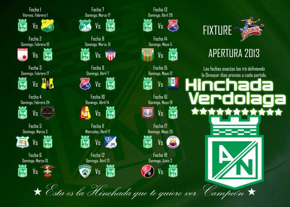 Calendario De Liga 2016 | New Calendar Template Site
