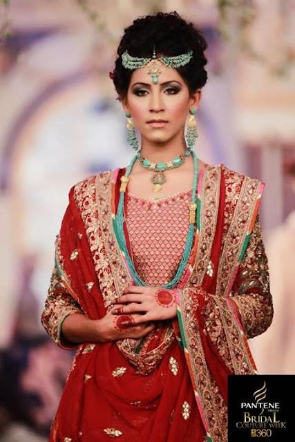 Pakistan Pantene Bridal Couture Week '13 Lahore Day 2- Maram & Aabroo