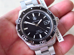 TAG HEUER AQUARACER 500m - AUTOMATIC CALIBRE 5 - PART B