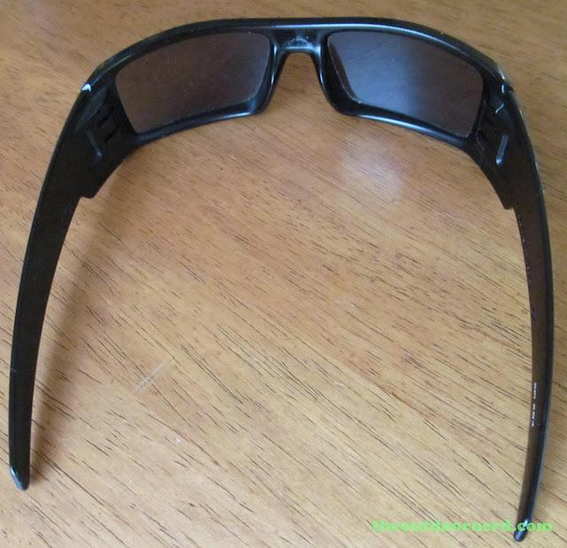 Oakley GasCan Sunglasses: Rear View