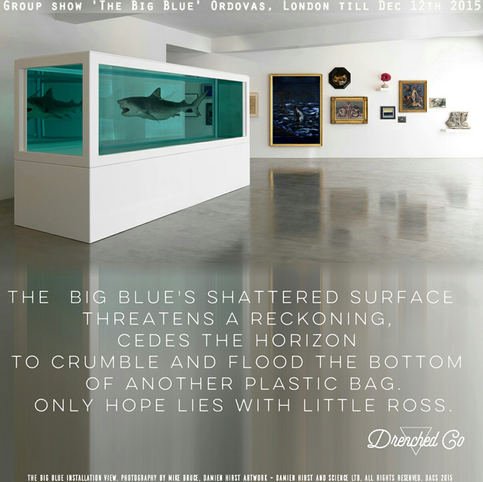 Image of Ordovas Gallery London with Art exhibition review by Drenched Co
