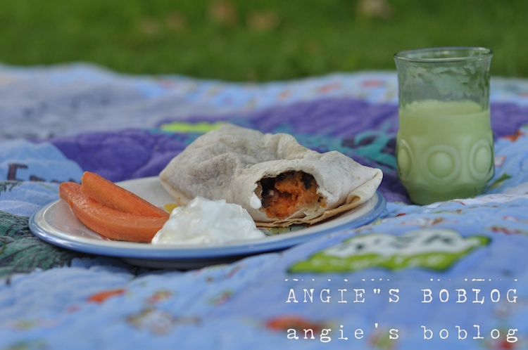 addictive sweet potato burritos the ingredients 1 tablespoon olive oil