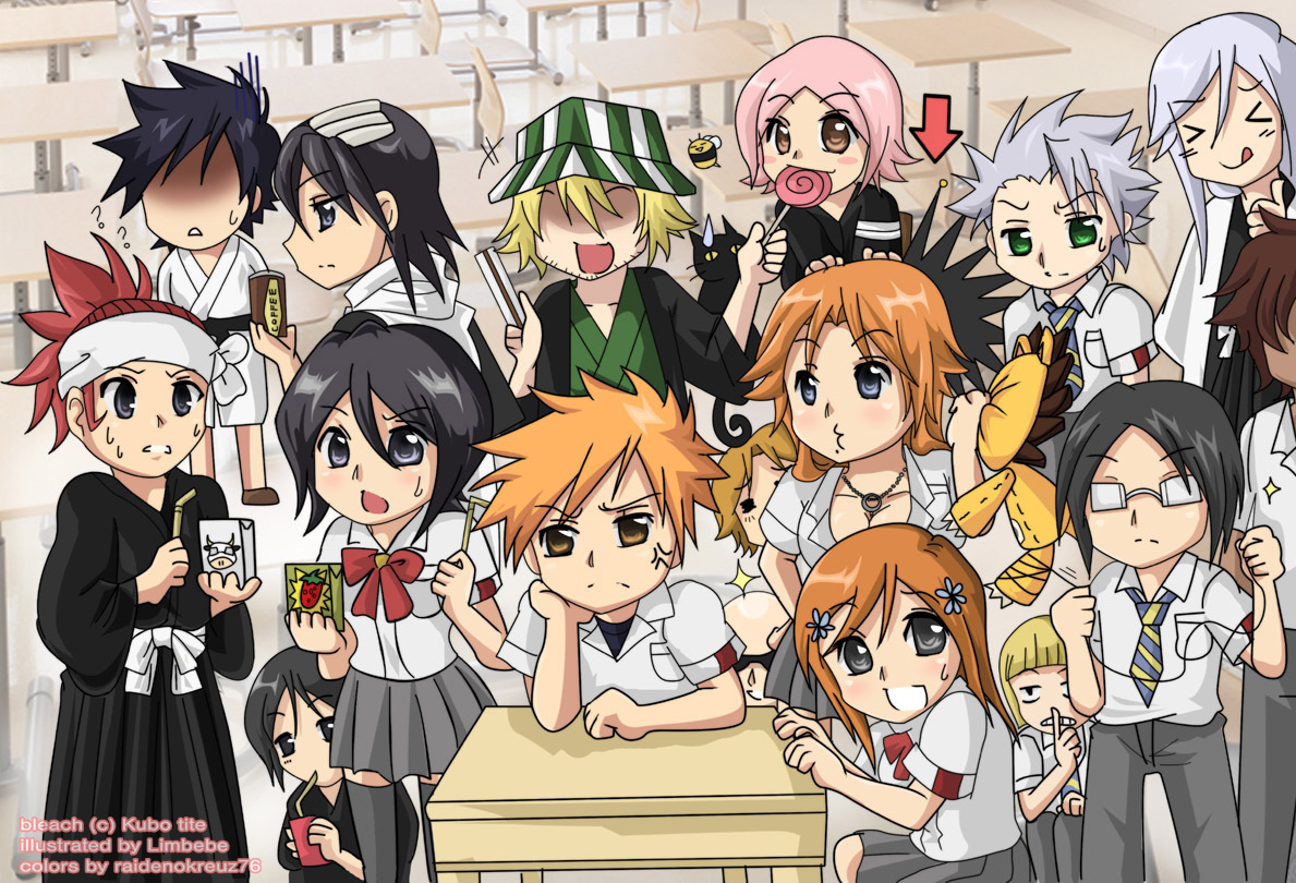 Desktop Wallpaper Bleach Characters h Anime HD Images