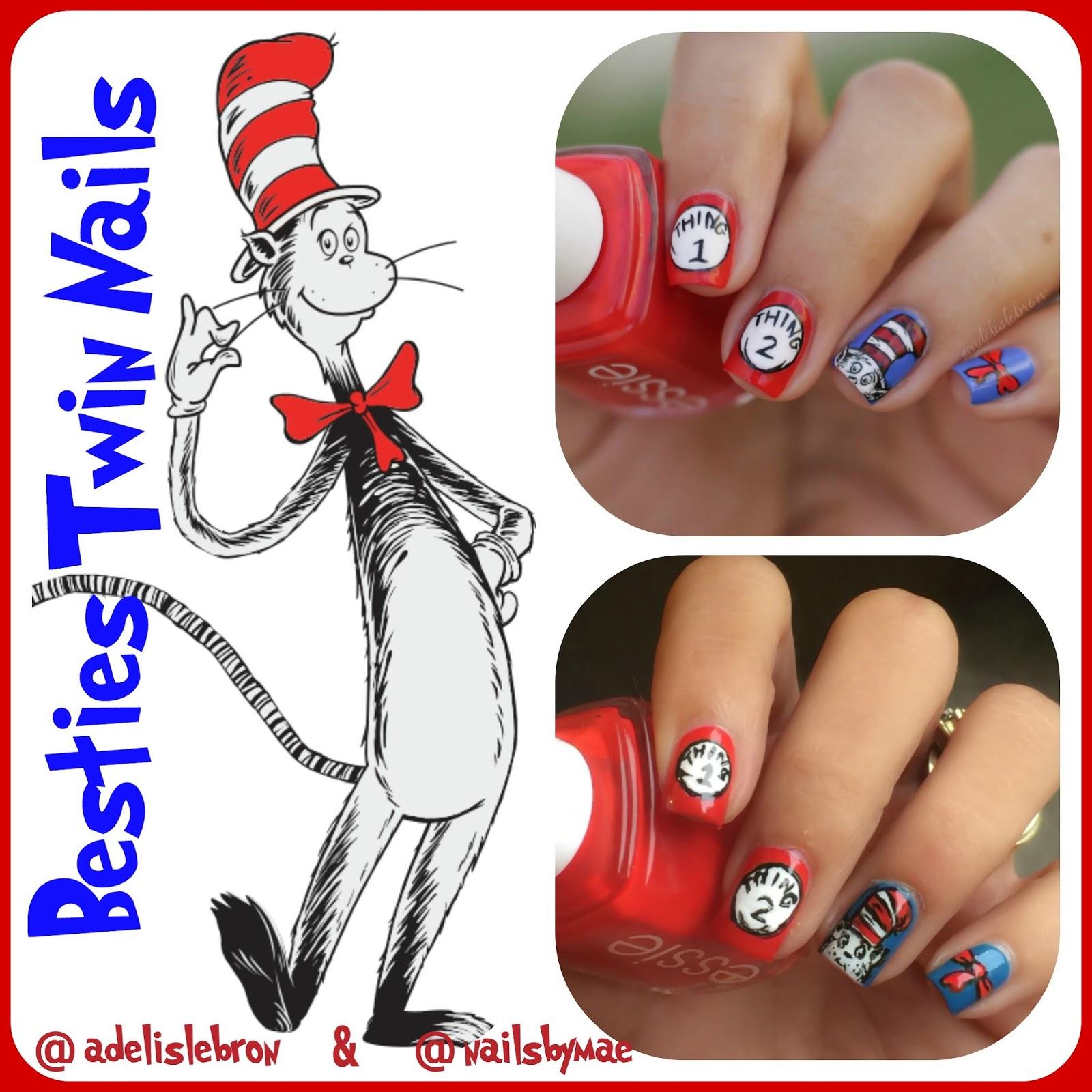 Adelis Lebron Nail Art October 2015