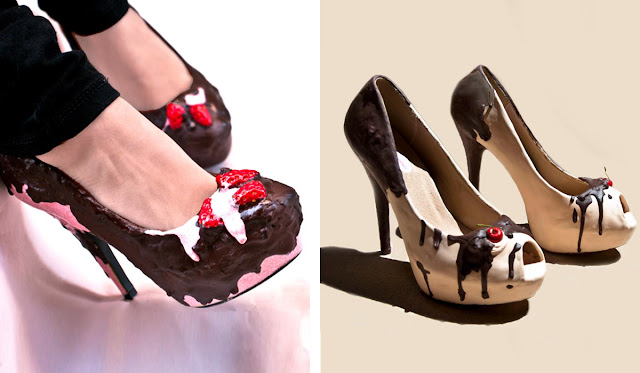 candy, sweet sensations, shoes, fashion