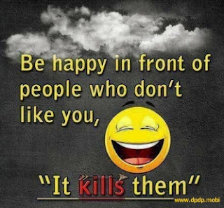 Gambar Tampilan di Bbm Blackberry_be happy in front of people who don't like you it kills them