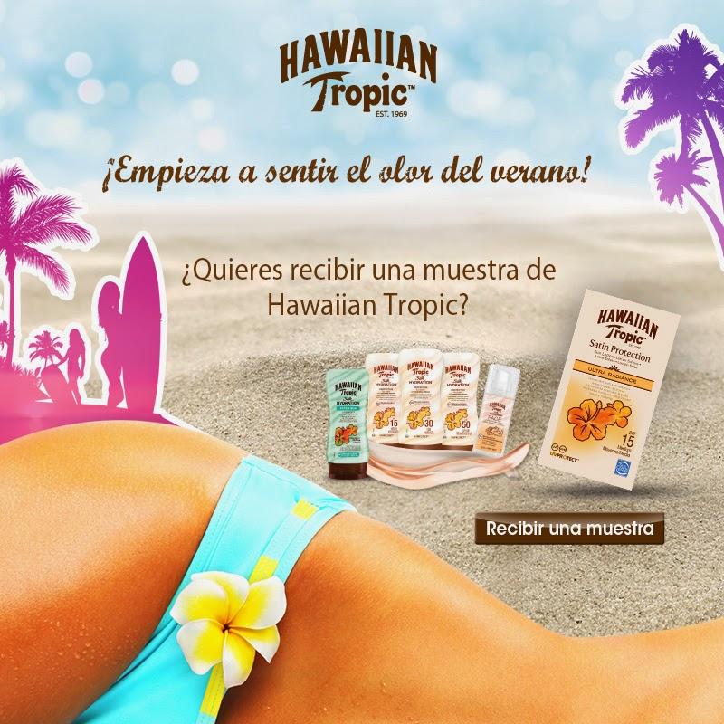 muestras gratis hawaiian Tropic