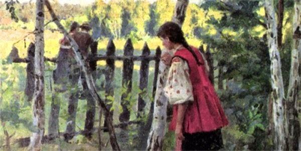 Николай Пимоненко Ревность 1901 г.