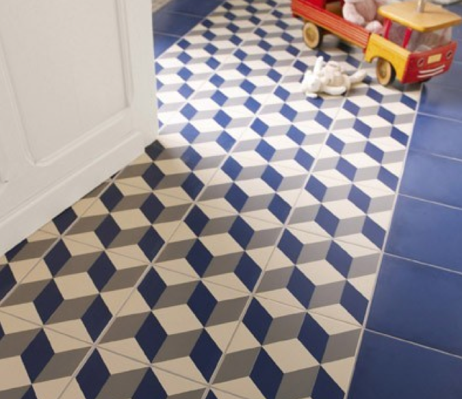 Les carreaux de ciment chez saint maclou prune aime paris - Carrelage aspect carreaux de ciment ...