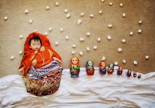 foto-foto referensi untuk memotret bayi