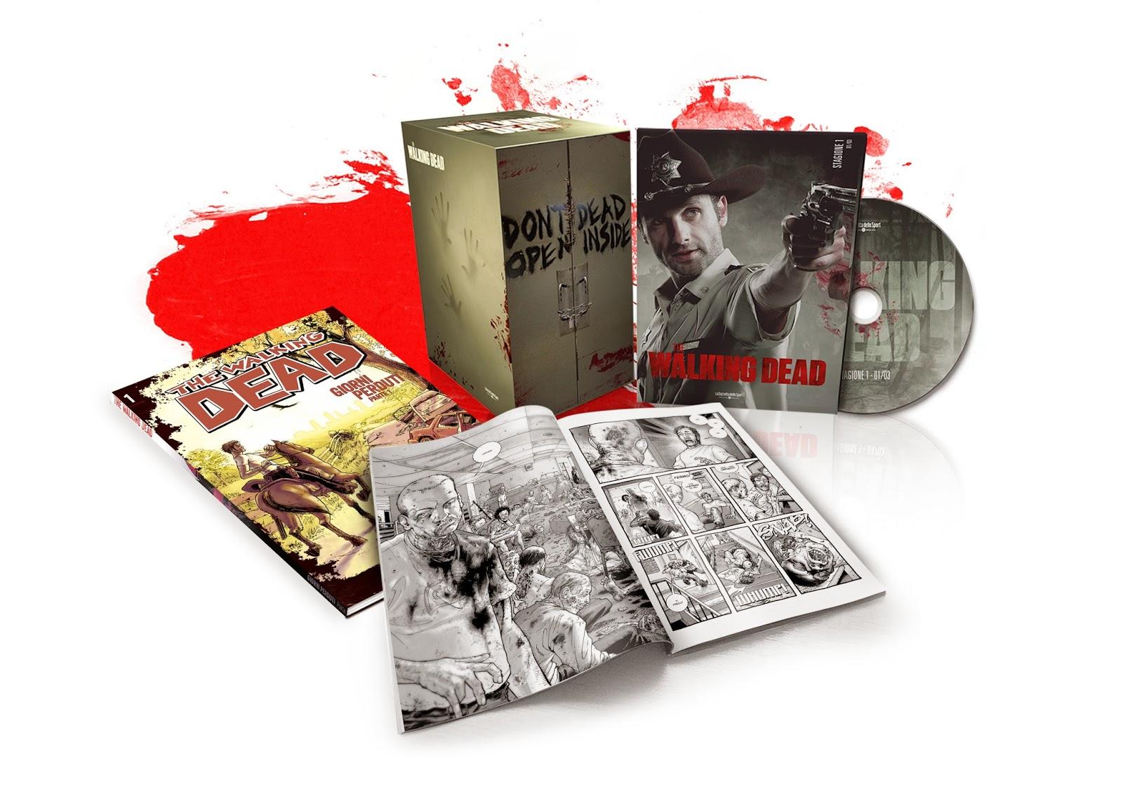 THE WALKING DEAD I DVD DELLA SERIE TV E IL FUMETTO IN EDICOLA CON LA GAZZETTA DELLO SPORT