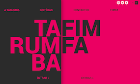 A Tarumba tem um novo site | We've just launched a new website:
