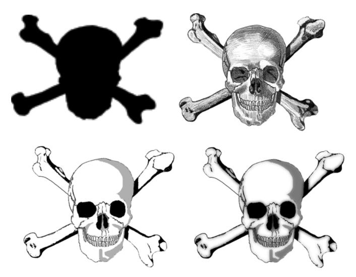 Skull and Crossbones brushes