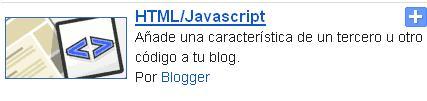 Menú desplegable para blogger