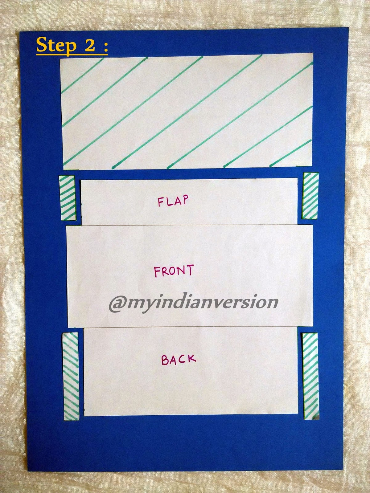 My Indian Version: DIY : Envelope Template Tutorial with photos