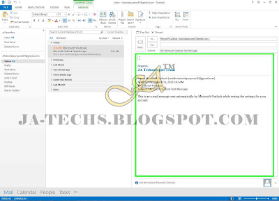Auto Add Signature in MS Outlook Emails - Step 13