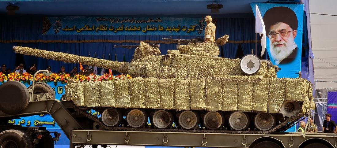 Fuerzas Armadas de Iran Zolfaghar3Tank3