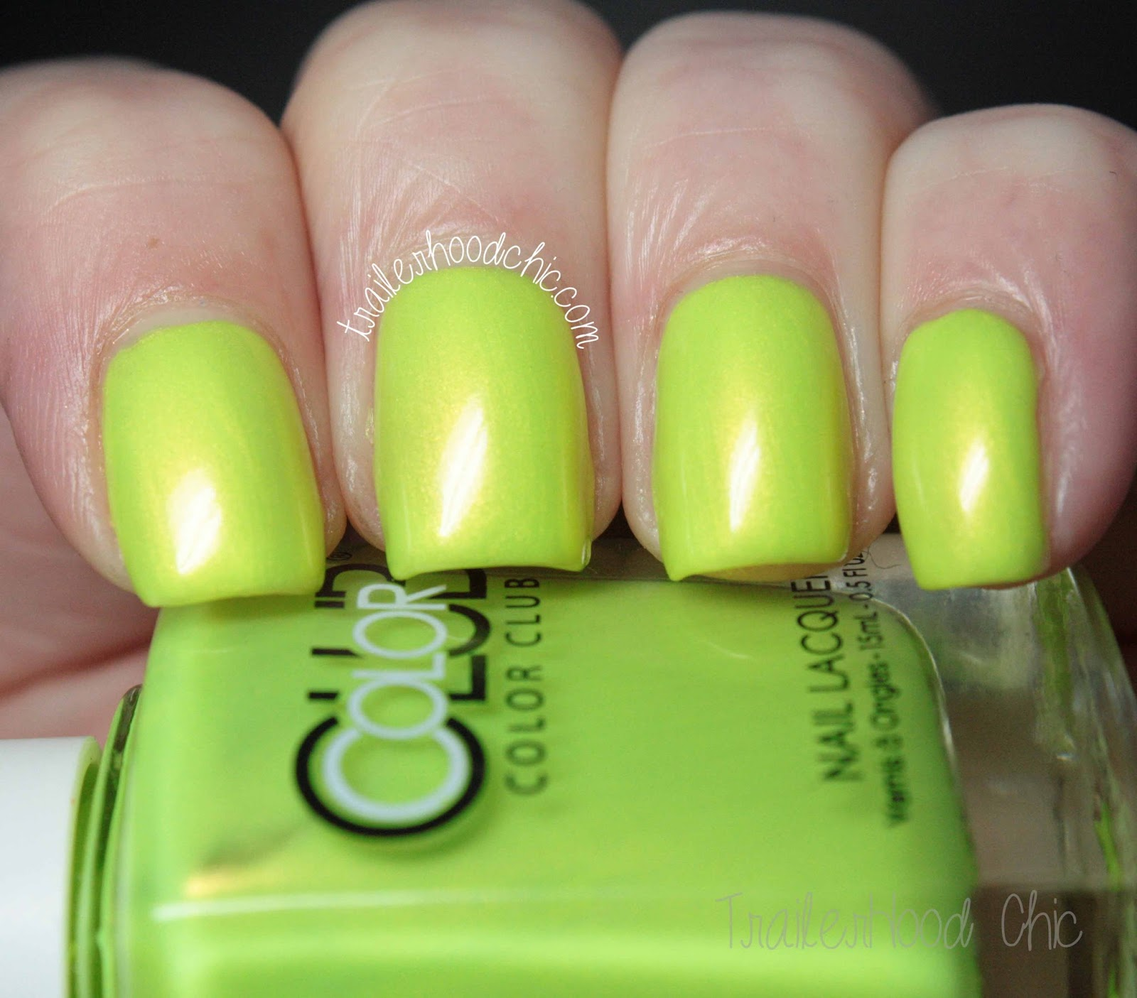 color club poptastic not so mellow yellow
