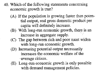 macroeconomics multiple choice Multiple choice questions for microeconomics (ecn 2103) multiple choice questions part 1: introduction (20 may) multiple choice questions part 2.