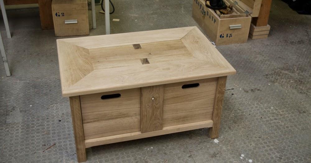 Carnet d 39 id es une table basse am lior e oak coffee table - Que mettre sur une table basse ...