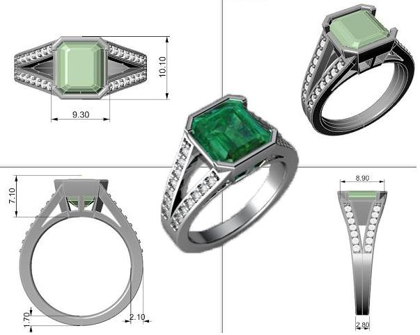 Rhino 3D Jewelry Design