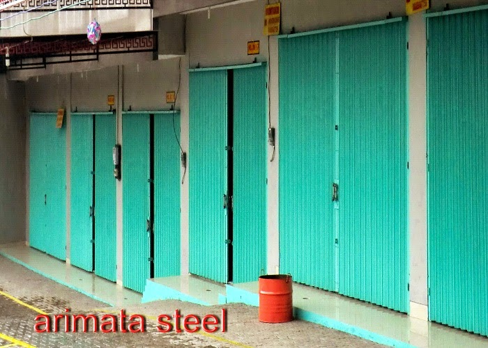 gambar untuk harga folding gate murah di  karawang