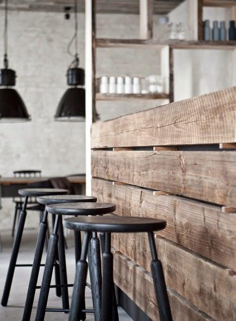 Estilo escandinavo del restaurante Höst en Copenhague