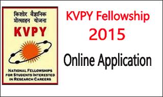 kvpy scholarship 2015