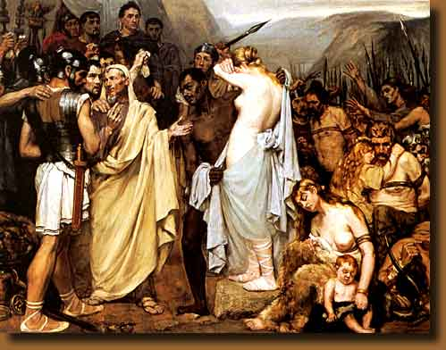 julius caesars relationship with his family