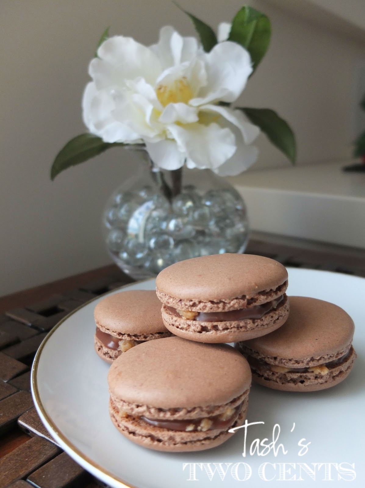 Tash's two cents: Snickers Macaron