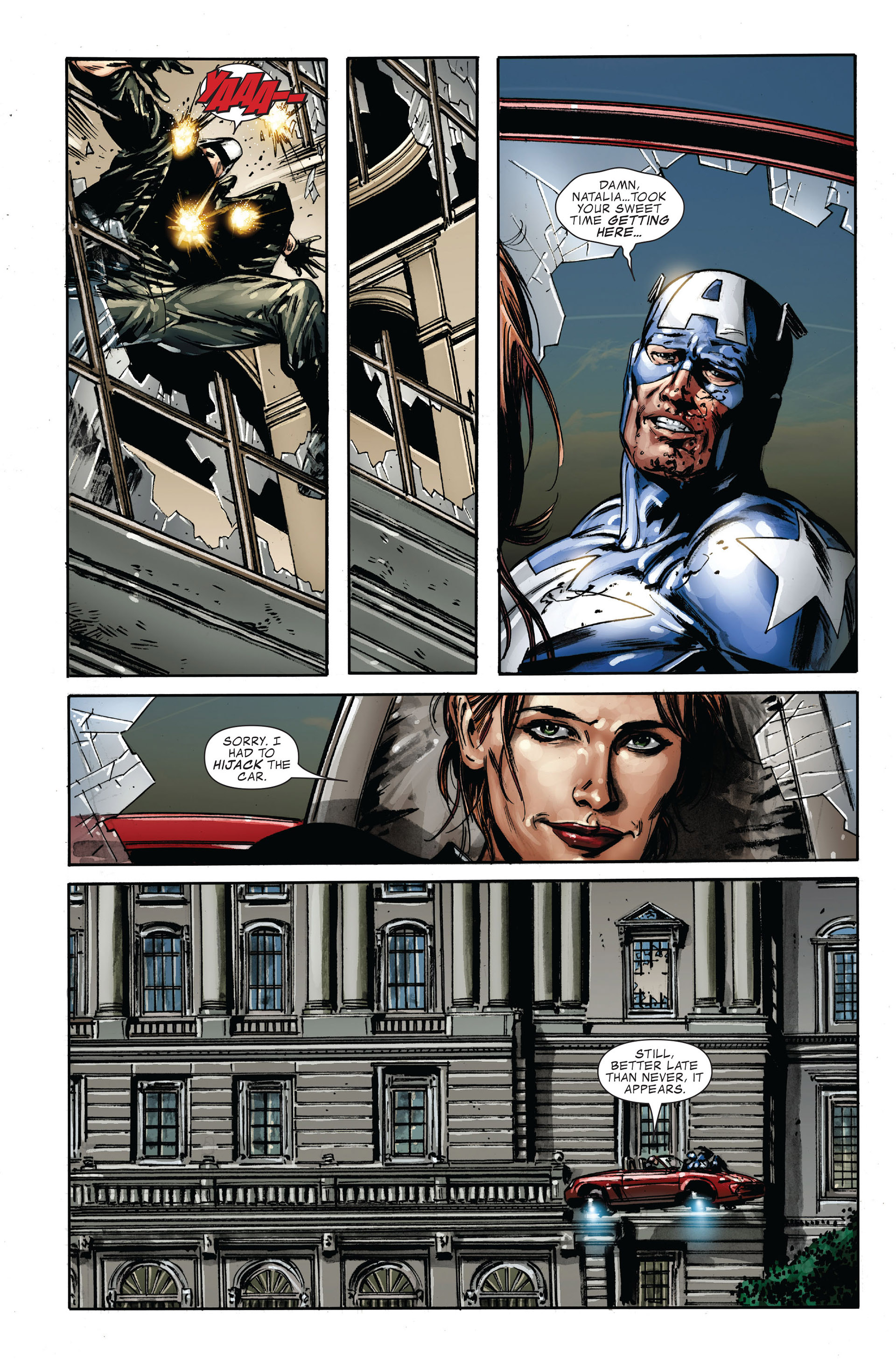 Captain America (2005) Issue #36 #36 - English 14
