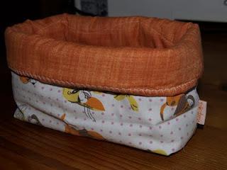 Textil tároló varrása tutorial
