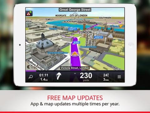 تطبيق الخرائط وتحديد المواقع GPS والملاحة للأندرويد وiOS بدون أنترنت Maps & GPS Navigation by Sygic 14.0.2