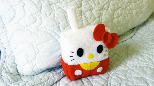 How to Make a Hello Kitty Juice Box plushie tutorial