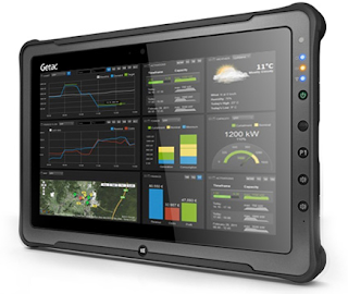 Getac F110 11.6-Inch Rugged Tablet with Intel Core i7 vPro CPU