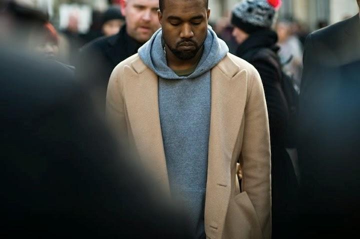Kanye West MFW 2014