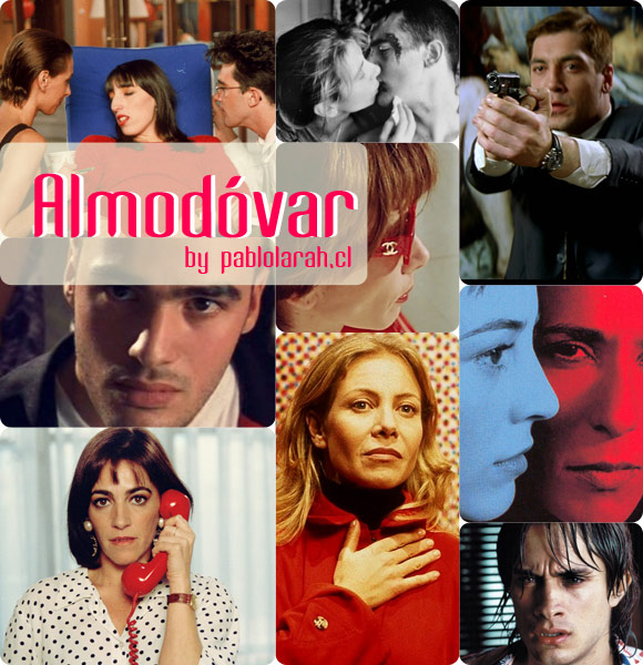 Inspiration: Pedro Almodovar,movies,quotes,Pablo Lara H Blog,pablolarah,collage