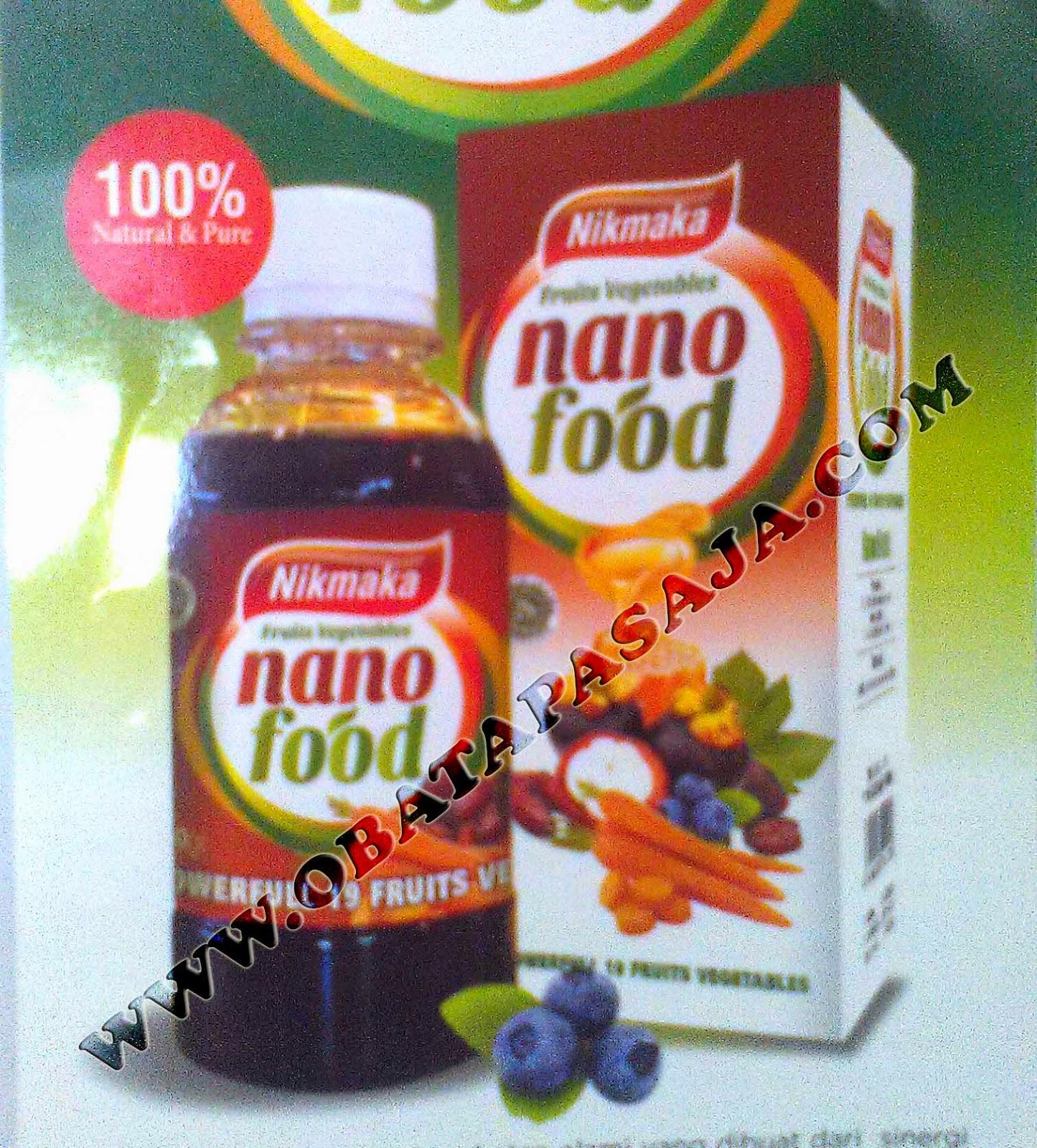 Manfaat Nano Food Minuman Kesehatan dari 19 bahan Herbal