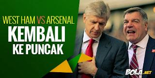 Preview: West Ham vs Arsenal, Balik ke Puncak