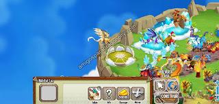imagen del habitat luz y el dragon arcangel en ddragon city