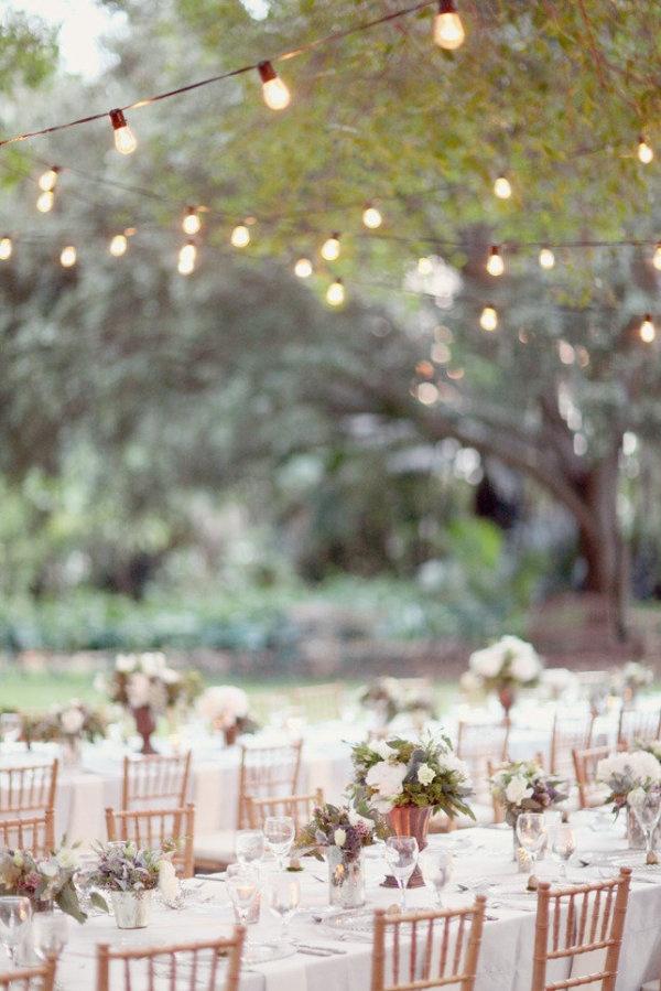 Guirnalda luces boda