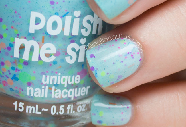 Polish Me Silly Get Breezy swatch // The Nailasaurus