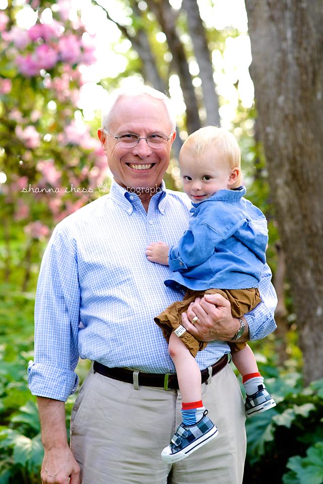 eugene oregon family photography grandpa