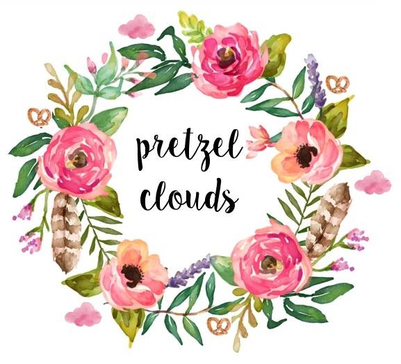 pretzel clouds