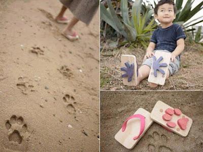 Kesan tapak kaki seakan haiwan