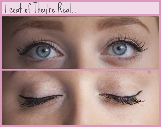 Benefit They're Real Mascara Review One Coat
