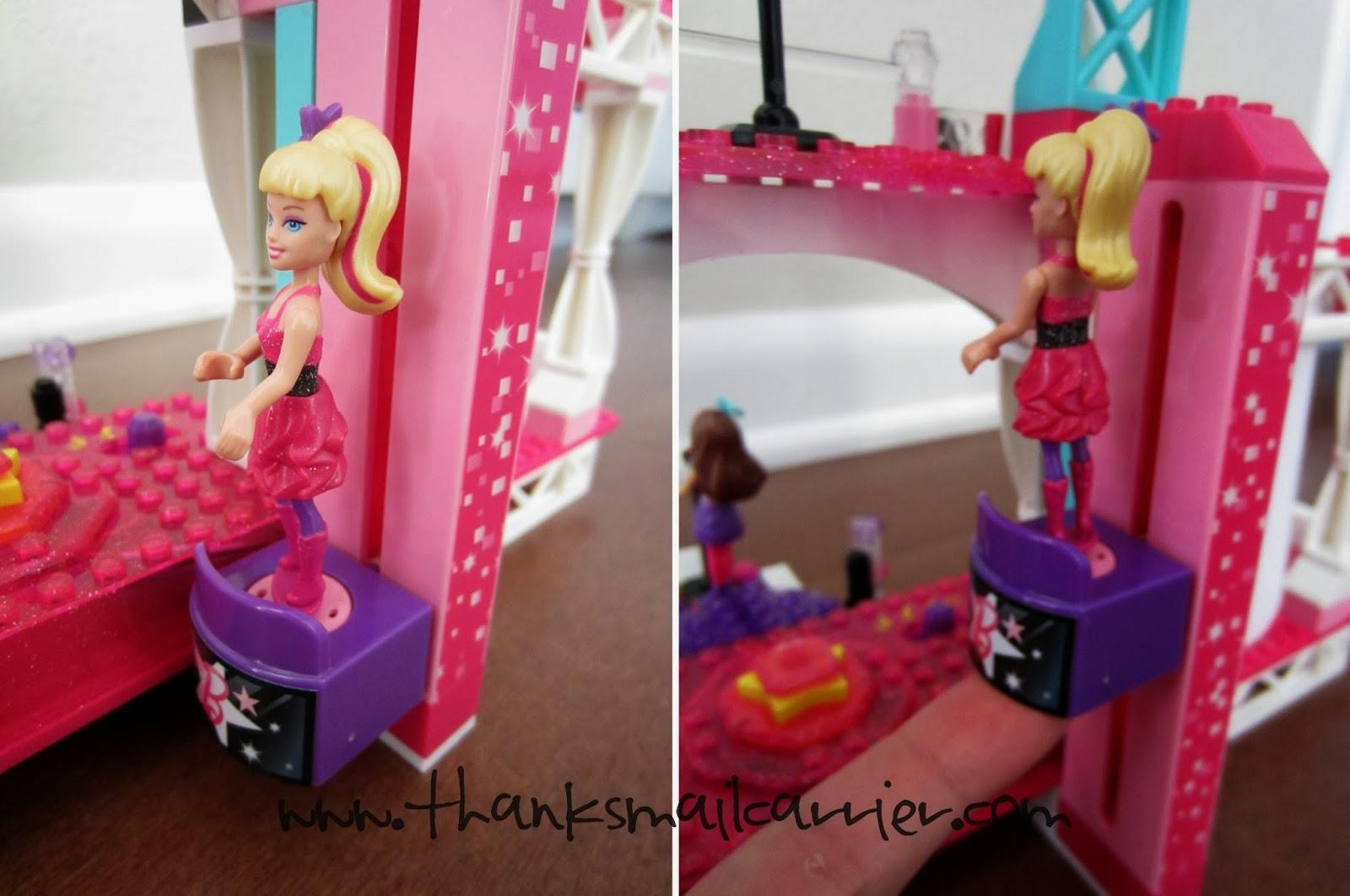 Mega Bloks Barbie Stage elevator