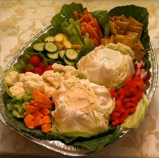 how to build a crudite platter