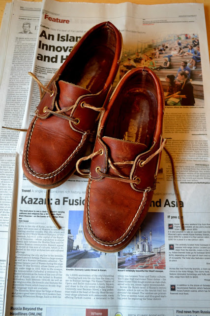 leather, boat shoes, dexter, made in the usa, fleur d'elise, catie beatty, vintage