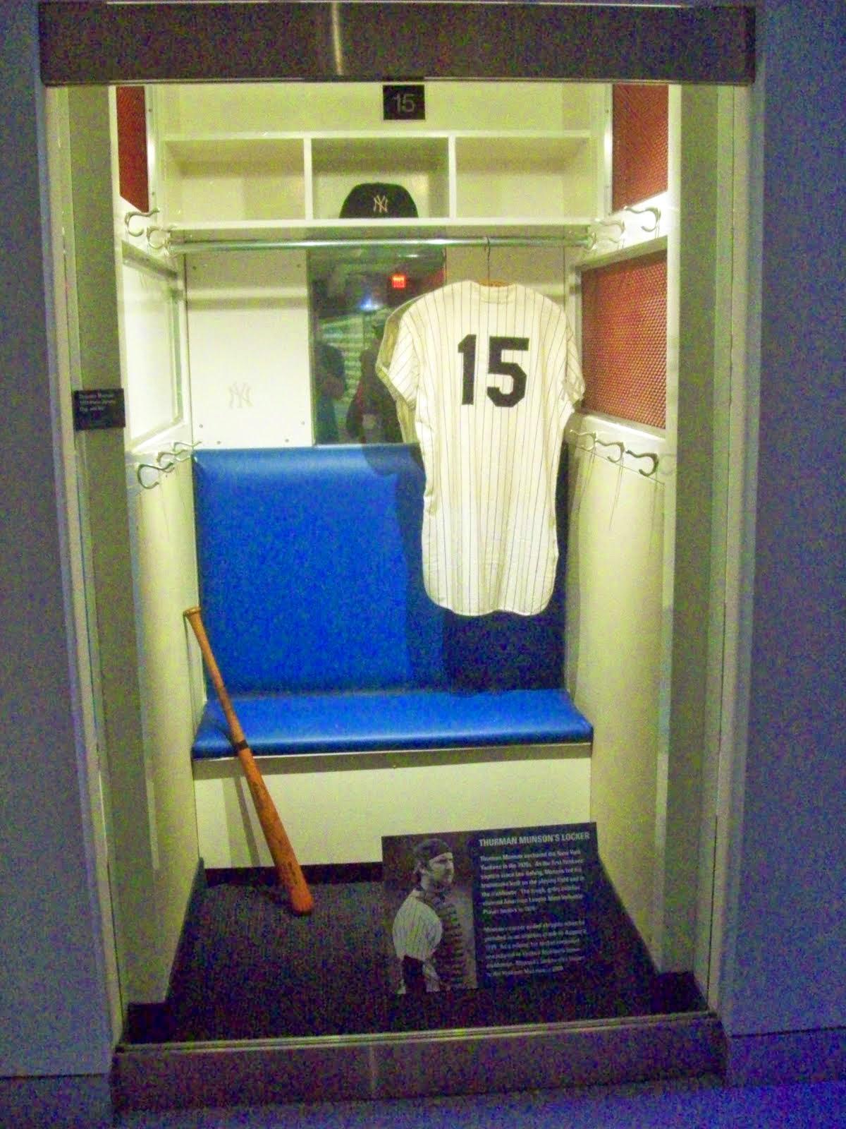 Thurman Munson's locker